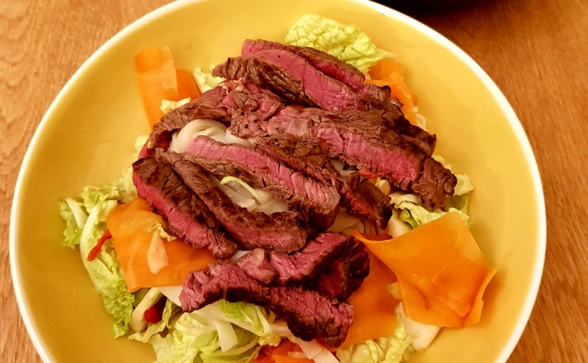 Steak & Vietnamese Noodle Salad