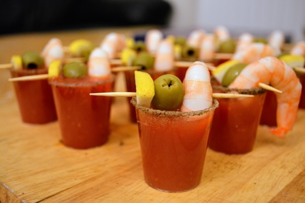 Bloody Mary Shot 3