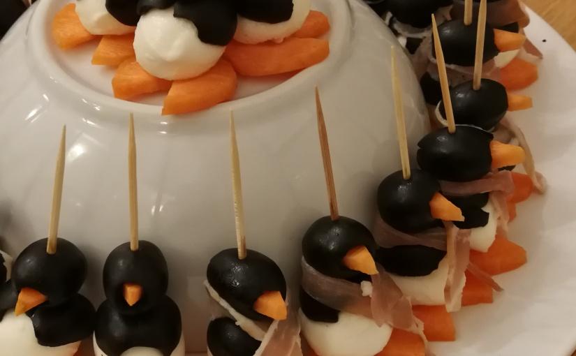 Mozzarella Penguins